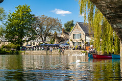 Riverside pub, Lechlade, Gloucestershire, uk (gopper) Tags: ngc flickr oxfordshire wiltshire gloucestershire lechlade riverthames river thames riverside awesome pub food drink merry spring 2019 may national kayak bridge rest pint beer spirits canoe boat relaxing chill flickrestrellas