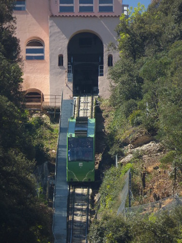 Funicular Railways at Montserrat - Funicular de Sant Joan