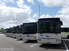 IVECO BUS Crossway Line - 1514 et 1421 et 1418 & IRISBUS Crossway - 1806 et 1506 & IRISBUS Arway - 1809 & IRISBUS Récréo II - 1208 - SPL TRANS LANDES (Clément Quantin) Tags: car autocar interurbain ligne scolaire iveco ivecobus crossway crosswayline €6 1514 dw688cf 1421 dh436rb 1418 dh345rc irisbus irisbusiveco eev 1806 cj650lf 1506 cj900jw arway 1809 cs545xt récréo récréoii 1208 cl814dy spl trans landes translandes spltranslandes dépôt saintvincentdepaul réseau xlr région nouvelleaquitaine