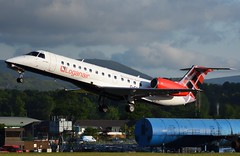 G-SAJT Loganair (Gerry Hill) Tags: edinburgh airport gerry hill scotland turnhouse ingliston d90 d80 d70 d7200 d5600 boathouse bridge nikon aircraft aeroplane international airline edi egph airplane transport gsajt loganair embraer erj 135 erj135 erj135er grjxl