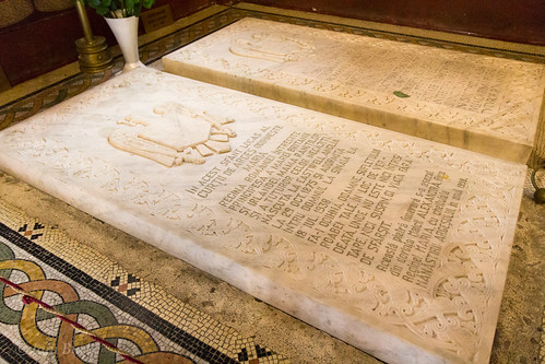 The grave of Queen Marie of Romania
