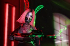 ❌Combative (sєᴋᴀ (nivea.vuckovic)) Tags: secondlife secondlifegirls secondlifeavatar secondlifecombat rp combat kos neon