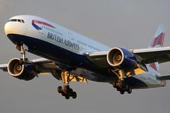 Boeing 777 G-YMMI British Airways -Heathrow Airport 3/9/2007 (robert_pittuck) Tags: boeing 777 gymmi british airways heathrow airport 392007
