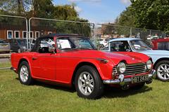Triumph (Treflyn) Tags: classic car triumph tr5 bask sun 2019 woodley carnival berkshire uk