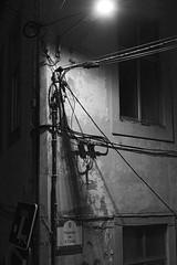 Saint James Alley (lebre.jaime) Tags: portugal beira covilhã streetphotography digital ff fx fullframe bw blackwhite noiretblanc pb pretobranco ptbw nocturnal nikon d600 voigtländer nokton 58f14sliis affinity affinityphoto