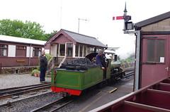 IMGP0482 (Steve Guess) Tags: light train miniature engine railway loco steam locomotive gauge narrow eskdale ravenglass 15inch riverirt re laal ratty