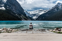 153/365 Lake Louise (belincs) Tags: lakelouise travel oneaday mountains 365 canada vacation 2019 snow ice 365the2019edition 3652019 day153365 02jun19