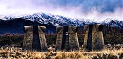 Guardianes (Miradortigre) Tags: mendoza argentina andes winter invierno nieve snow mountains montañas ridge cordillera cold frio arte art ants