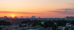 Cityscape (gubanov77) Tags: cityscape skyline sunset city sky moscow russia panorama goldenhour urban