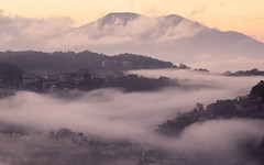 Mountain City Mist, 2019 (JBLardizabal) Tags: baguio city cityscape clouds mist fog urbanscape mountain travel luzon philippines benguet sunrise weather warm