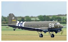 Douglas C-47-D Skytrain, N150D (Ciaranchef's photography.) Tags: daksoverduxford c47skytrain airshow airborne nikond7000