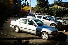 1995 Mercedes-Benz (Matthew Paul Argall) Tags: olympusam100 35mmfilm kodakultramax400 kodak400 ultramax 400isofilm untouchedandunedited car vehicle automobile transportation carspotting