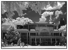 Green House Plaza (4 Pete Seek) Tags: garden gardens botanicalgardens atlantabotanicalgardens atlanta atl atlantageorgia greenhouse infrared ir lifepixels 590nm supercolor590nm supercolor blackwhite blackandwhite bw whiteandblack irbw infraredblackandwhite sps spsatlanta touit1832 touit32mmf18 zeisstouit32mmf18 planar3218touit