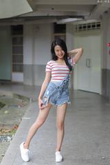 IMG_9829L (攝影玩家-明晏) Tags: outdoor 人 人像 pretty portrait girl woman 戶外 model 外拍 台灣大學 美女 女生 女孩 people taiwan taipei canon