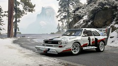 1987 Audi Sport quattro S1 (chumako@bellsouth.net) Tags: scapes gaming gtsport polyphony ps4pro ps4 playstation mountain snow racecar cars rally s1 quattro audi