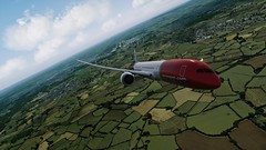 [P3D v4.5] B789 Dreamliner | LGW airborne (danielrds) Tags: qw p3d p3dv4 prepar3d msfs b789 787 boeing dreamliner lgw gatwick test egkk airborne sky photo vatsim