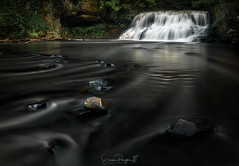 Smoke and Mirrors (Simmie | Reagor - Simmulated.com) Tags: 2019 cascade coginchaugriver connecticut connecticutphotographer d750 evening june landscapephotographer longexposure middlesexcounty middletown naturephotographer newengland nikon northeast stream summer wadsworthstatepark wadsworthsfalls digital smoothwater water waterfall rockfall unitedstatesofamerica