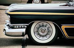 Caddy (Randy Durrum) Tags: cadillac caddy 1959 gm custom customized white walls whitewall hub cap logo durrum nikon d5300