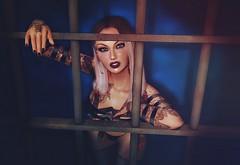 POP (He had it coming) (Jaina(YeannaS)) Tags: secondlife jail prison cellblocktango chicagomusical atp