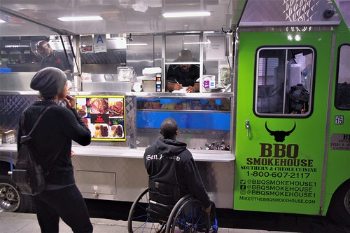 BBQ Food Truck - Everyone Coming Together