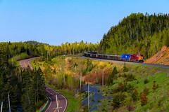 The Reserve (BravoDelta1999) Tags: northshoremining nsm railroad reservemining rsm rsmx citgroup cit cefx emd sd90mac sd9043mac 116 133 taconite ore train silverbay railfanrock minnesota