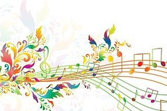 Print (reneeflora) Tags: rainbow music musical illustration curve melody sound note decorative element creative decoration graphic tune pop popular rock funky abstract tone swirly party artistic conceptual composition event festival concert composer color design waves art symbol colorful bright classical shape audio volume floral spring summer curved copyspace