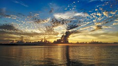Sunset in Marathon, FL (subrec) Tags: ocean sunset sky clouds florida marathon atlanticocean floridakeys dji skyporn colorfulskys mavicair djimavicair keys waves blue orange usa gulfofmexico water america us unitedstatesofamerica scenic iconic aerialphotography drone dronephotography beautiful weather