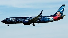 Boeing 737-8CT (dejuczi) Tags: boeing737 westjet cgwsz disneysmickymouselivery torontopearson yyz