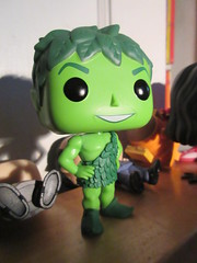 The Jolly Green Giant Funko Pop figure 1143 (Brechtbug) Tags: the jolly green giant funko pop figure vegetable monster food product greens peas peter pan looking scifi science fiction comic comicbook comics