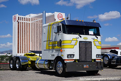 Mcallister Enterprises 1995 Peterbilt 362 (Michael Cereghino (Avsfan118)) Tags: 2019 aths american historical truck society national convention show reno nevada nv peterbilt pete model 362 coe cab over cabover engine sleeper mcallister enterprises 1995 95