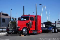 Troy Charboneau's 1987 Peterbilt 359 Classic (Michael Cereghino (Avsfan118)) Tags: 2019 aths american historical society truck national convention reno nevada nv peterbilt pete model 359 classic kt k t trucking show showtruck charboneau troy