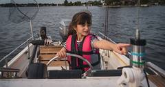 Elleigh Fishing Trip-9 (mmulliniks) Tags: sony alpha a7iii a73 sigma metabones pentax super takumar rokinon tokina 50mm 28mm 35mm 24mm 1017mm 1650mm 28200mm 85mm 24105mm zoom prime landscape portrait lifestyle nature sky 20mm 70200mm fisheye mirrorless hobby beauty fun family explore photography still life vintage tamron supertakumar 8mm 9mm slr magic micro four thirds kids fishing fish bass lake sunset outside outdoors water boat boston whaler daughter waves action