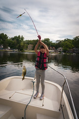 Elleigh Fishing Trip-2 (mmulliniks) Tags: sony alpha a7iii a73 sigma metabones pentax super takumar rokinon tokina 50mm 28mm 35mm 24mm 1017mm 1650mm 28200mm 85mm 24105mm zoom prime landscape portrait lifestyle nature sky 20mm 70200mm fisheye mirrorless hobby beauty fun family explore photography still life vintage tamron supertakumar 8mm 9mm slr magic micro four thirds kids fishing fish bass lake sunset outside outdoors water boat boston whaler daughter waves action