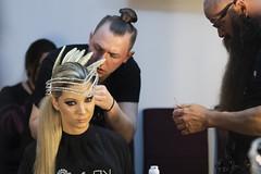 Maxim Lazarev's creations (Orangedrummaboy) Tags: keune keune2019 maxim hairshow hairstyle hair hairdresser art adaywithkeune2019 upstyle models womenshairstyles model sydney hairextensions extensions hairspray hairdye colourist modelling fashion diamonte