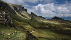 'The Cut' - The Quiraing, Isle of Skye (Gavin Hardcastle - Fototripper) Tags: quiraing isle skye portree staffin scotland scottish landscape photography summer