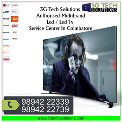3gfacebook27 (3gtechsolutionstvservice) Tags: samsung tv professionals we well equipped trained all kinds spot services your door steps regardless model our technicians will perform service for any type areas coimbatore
