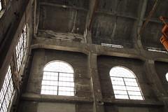 Hoist House Windows (BunnyHugger) Tags: hancock hoisthouse michigan mine quincymine
