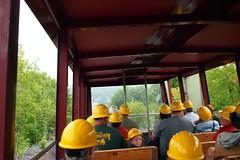 Riding to the Mine (BunnyHugger) Tags: hancock michigan mine quincymine tour tram