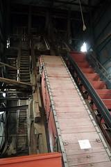 Escalator (BunnyHugger) Tags: hancock michigan mine quincymine shafthouse