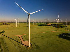wind turbine (Zygios) Tags: drone lietuva lithuania dronefly dji mavicpro wind turbine windturbine morning sky grass field road turbines outdoor exploring inspiration cpl hdr nature