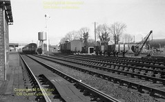 241 Antrim station Easter 1963 (Mike Shannon)  241 (Ernies Railway Archive) Tags: antrimstation nir northerncountiescommittee belfastnortherncountiesrailway