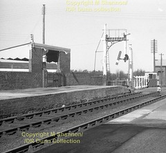 246 Antrim N end inc down starter Easter 1963 (Mike Shannon)  246 (Ernies Railway Archive) Tags: antrimstation nir northerncountiescommittee belfastnortherncountiesrailway
