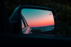 f e e l  r e a l_ (wardephoto) Tags: sunset sunsetcolors sunsetphotography reflections mirrors minimalism minimal vaporwave vaporwavephotography newwave cars carphotography mirrored landscape landscapephotography contemporary nikon nikond7200 ford newengland massachusetts carmirror lifestyle
