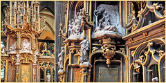 Tabernacle de l'église Saint-Martin, Kortrijk (Courtrai) Flandre Occidentale, Belgium (claude lina) Tags: claudelina belgium belgique belgië kortrijk courtrai flandreoccidentale église church tabernacle eglisesaintmartindecourtrai