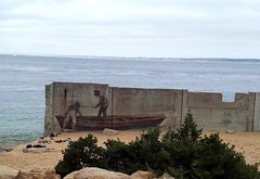 Historic fisherman's town of Monterey, California, Usa. (Tiina Johanna) Tags: canneryrow fishermanswharf monterey montereybay california usa oceanview mural wallart