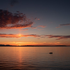 Golden Gardens Sunset (garbazo) Tags: sunset pugetsound puget kayak seattle goldengardens summer canon g7x