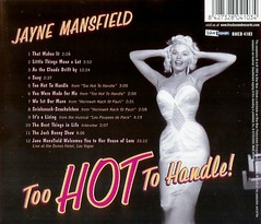 Jayne Mansfield - Too Hot To Handle (poedie1984) Tags: jayne mansfield vera palmer blonde old hollywood bombshell vintage babe pin up actress beautiful model beauty hot girl woman classic sex symbol movie movies star glamour icon sexy cute body bomb 50s 60s famous film celebrities pink rose filmstar filmster diva superstar amazing wonderful american goddess mannequin black white blond sweater cine cinema screen gorgeous legendary iconic color colors too handle muziek music vinyl lp cd lippenstift lipstick oorbellen earrings busty boobs décolleté jurk dress