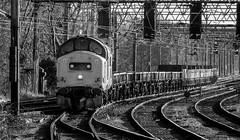 37174 R00627 Preston D210bob Fuji (D210bob) Tags: 37174 preston d210bob fuji railwayphotographs railwayphotography railwayphotos railwaysnaps londonmidland londonmidlanddivision westcoastmainline northwestrailways class37 ews freighttrain fujis5000