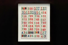 Collage of Thirty Six Ticket Stubs (Leo Reynolds) Tags: xleol30x leol30random panasonic lumix fz2000 art raffle ticket stub