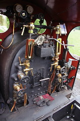 IMGP0551 (Steve Guess) Tags: dalegarth re steam railway narrow gauge 15inch train cumbria england gb uk ravenglass eskdale riverirt engine loco locomotive controls cab laal ratty